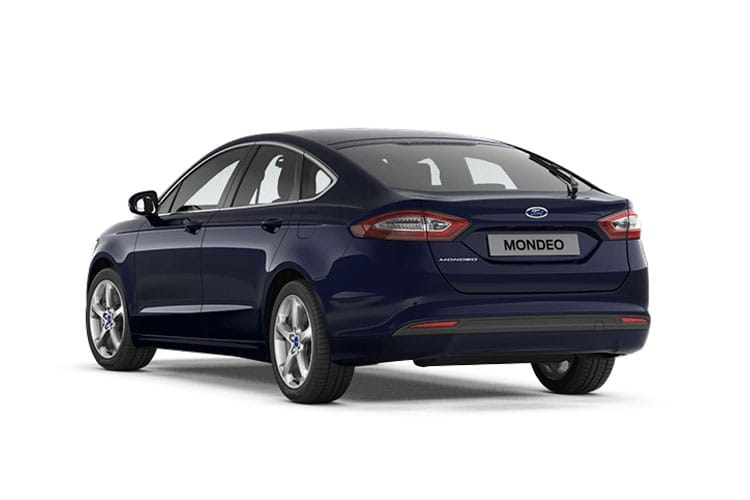 Ford Mondeo Hatch 5Dr 2.0 EcoBlue 150PS Zetec Edition 5Dr Auto [Start Stop] back view