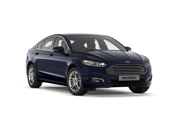 Ford Mondeo Hatch 5Dr 2.0 EcoBlue 150PS Zetec Edition 5Dr Auto [Start Stop] front view