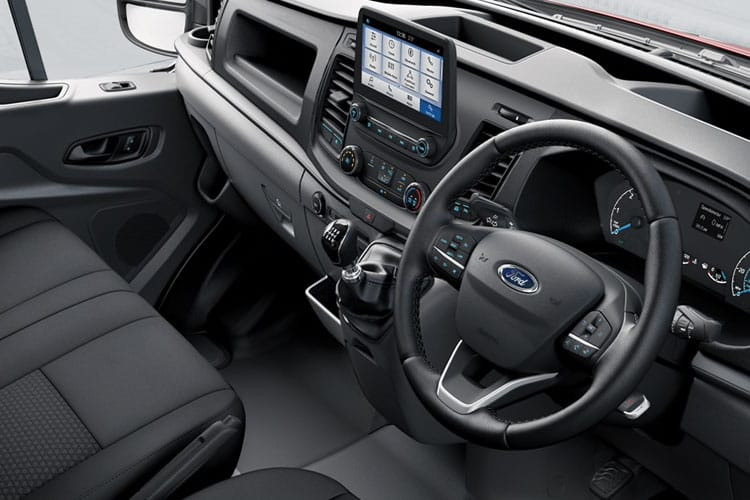 Ford Transit 350 L3 RWD 2.0 EcoBlue MHEV RWD 130PS Leader Crew Van High Roof Manual [Start Stop] [DCiV] inside view